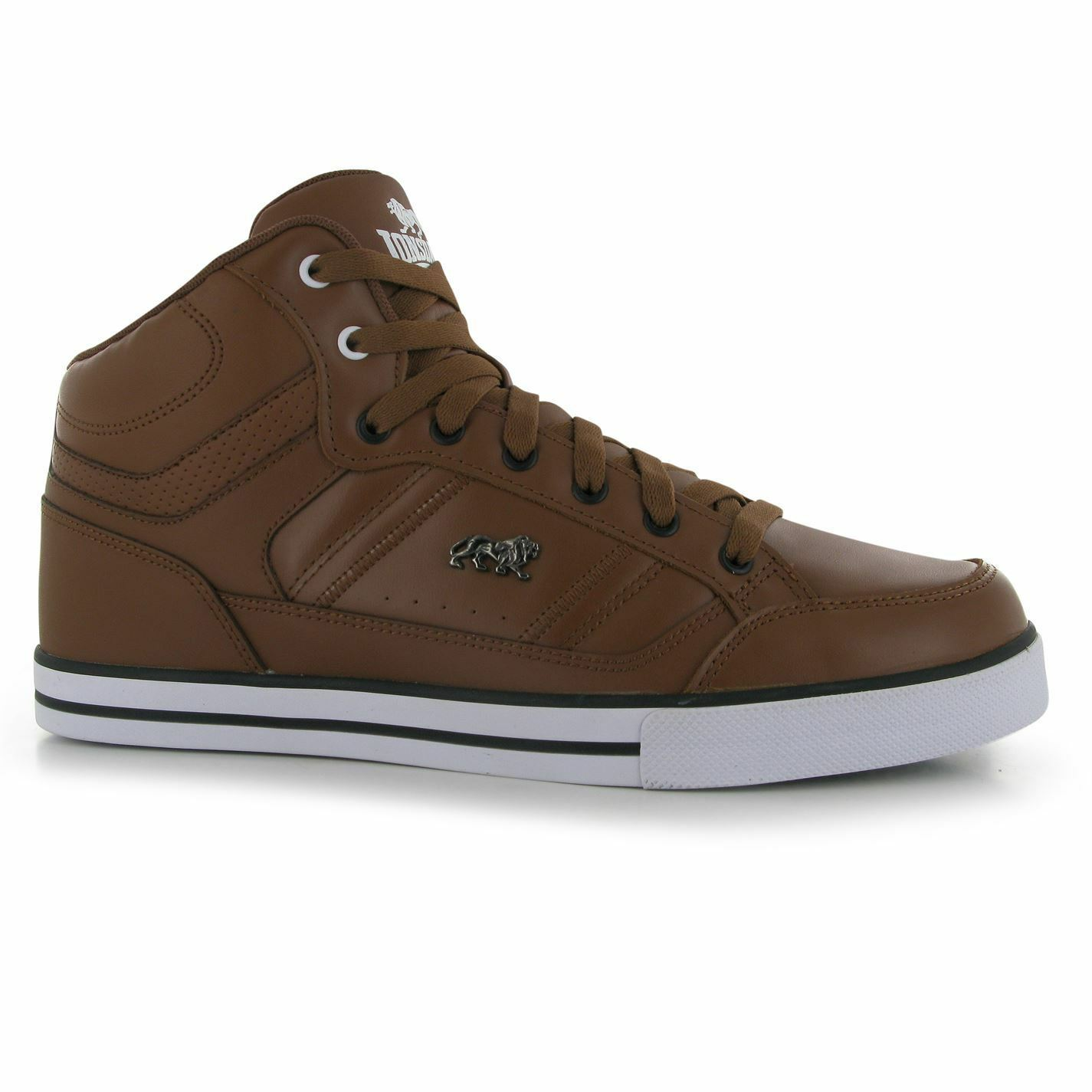 Lonsdale canons formatori e Uomo marrone / bianco e formatori scarpe da ginnastica scarpe casual. 83f4e9