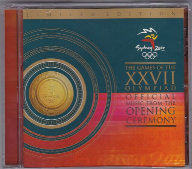 Sydney 2000 The Games Of The XXVII Olympiad - CD (Limited Edition)
