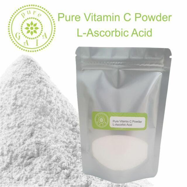 PURE VITAMIN C POWDER  **  L-Ascorbic Acid Collagen Booster
