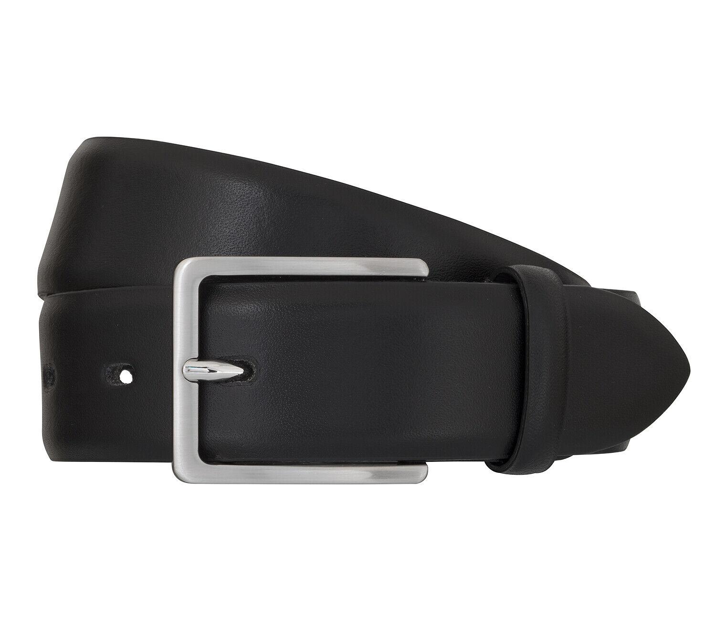 Bugatti Men's Belt Belt Leather Belt Automatic Buckle Black 73