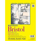 Strathmore 14 In. X 17 In. Smooth 300 Series Tape Bound Bristol Paper 20 Sheets