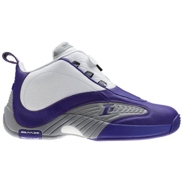 look good shoes sale arriving new arrive Reebok Answer Iv Pe (TEAM PURPLE/FLAT GREY/WHI) Men's Shoes BS9847