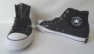 Details zu NEU Converse CT Ma 1 Zip Hi Gr. 44,5 Chuck Taylor Sneaker Chucks All Star BLACK