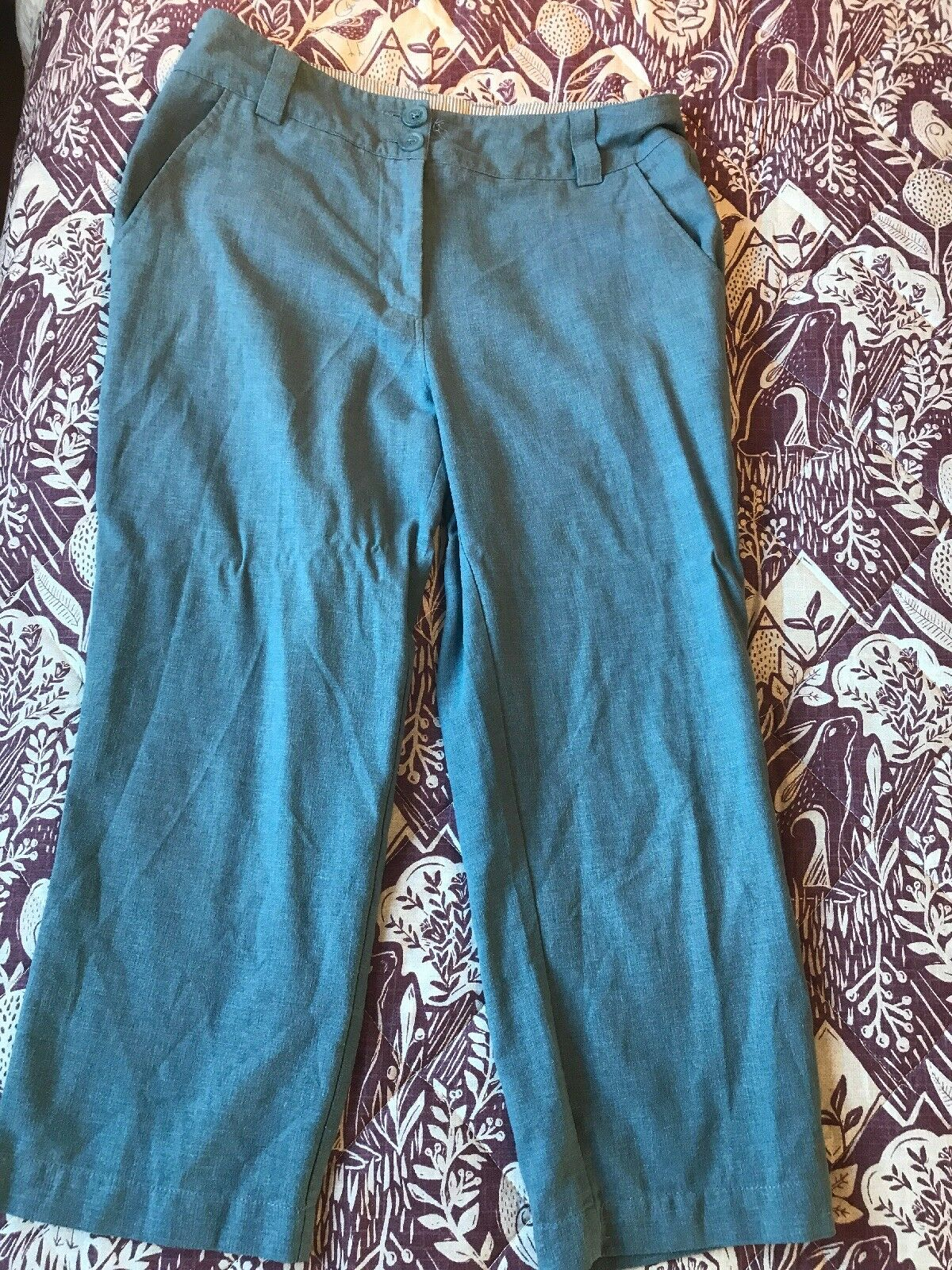 Rohan Ladies Linen Plus Capris Size 12 - Excellent Condition