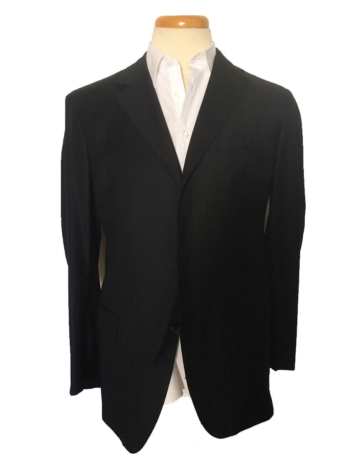 GIANFRANCO FERRE Dark Dark bluee Men Suit Size US 44 IT 54 Drop 8