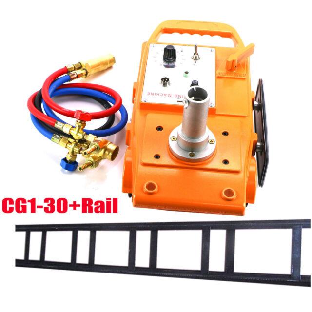 NEW Torch Track Burner CG1-30 Gas Cutting Machine Cutter with Rail Track US FAST