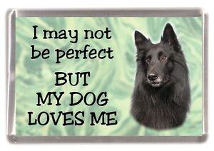 "German Shepherd Dog Fridge Magnet No.1 /""I may not be perfect ..../"" by Starprint"