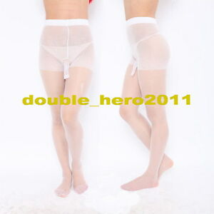 Sheer White Pantyhose For