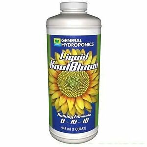 General-Hydroponics-KoolBloom-Liquid-1-Quart-32oz-fertilizer-nutrient-flower