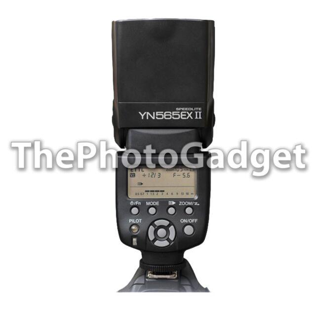 Yongnuo YN-565EX II TTL Flash Speedlite Canon 7D 5DII 60D 50D 1Ds 600D 450D 500D