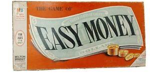 Easy Money Board Game Complete Vintage 1974 Milton Bradley Used