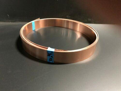 """Copper Roll Flashing 1 in 7//8"""" x 6/' 16 oz"""