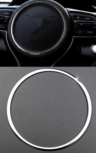 2016-2018 For Kia Sportage Steel Interior Steering Wheel Protector Cover Trim 1*