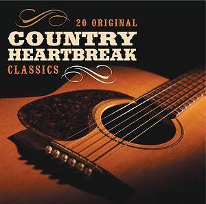 COUNTRY HEARTBREAK - 20 Original Classics 2012 CD NEW/UNPLAYED Dolly Parton