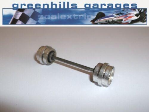 Greenhills Scalextric Mini Ha-Ha//Mad Hatter C290//91 Front Axle /& Wheels Used ...