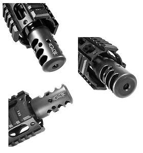 Details about Q5 Q-Type Extreme Duty Muzzle Brake +Crush Washer 1/2-28 223  CQB USA