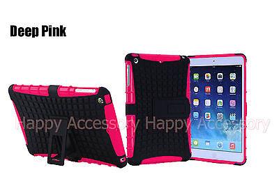 Shockproof Heavy Duty Case Cover for Apple iPad Air 2,1|iPad Mini|iPad 4,3,2