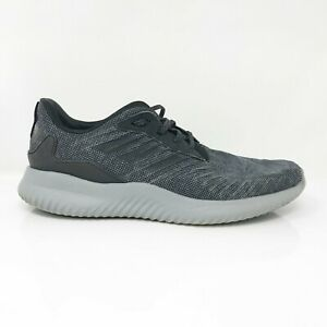 Adidas-Mens-Alphabounce-RC-CG5127-Black-Grey-Running-Shoes-Lace-Up-Size-9-5