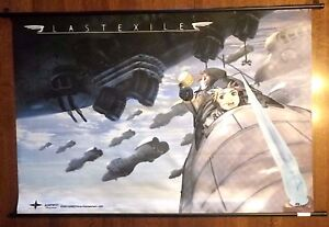2003 Last Exile Anime Steampunk Fabric Scroll Hanging Posterbanner