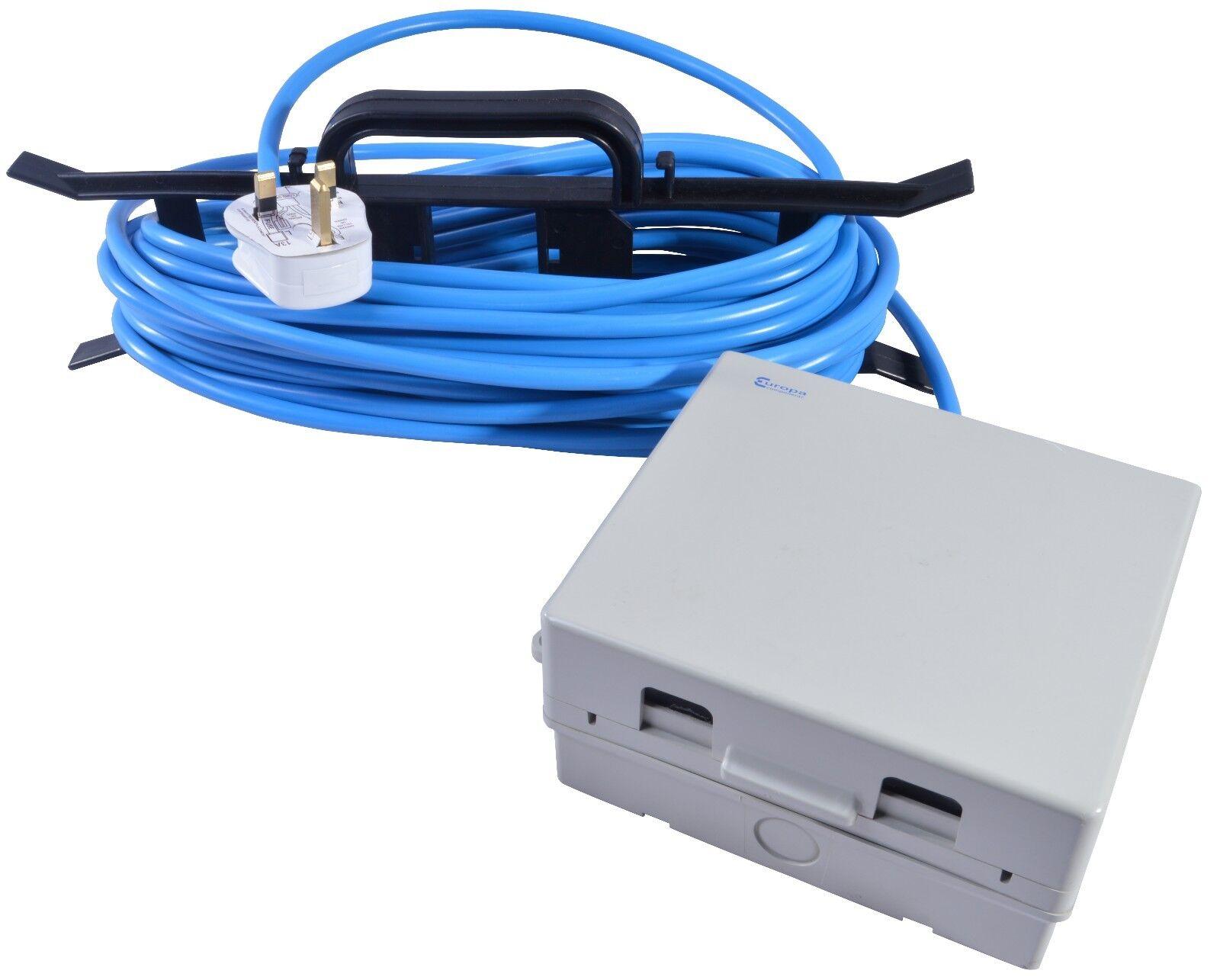 Masterplug Résistant aux intempéries Electrics Boîte d/'extérieur 10 M secteur Extension Lead