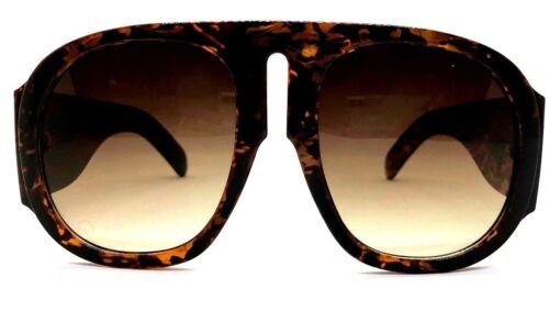 "XXL OVERSIZED /""GEGE/""  SUPER BIG Flat Top Women Sunglasses ROUND  Shadz GG"