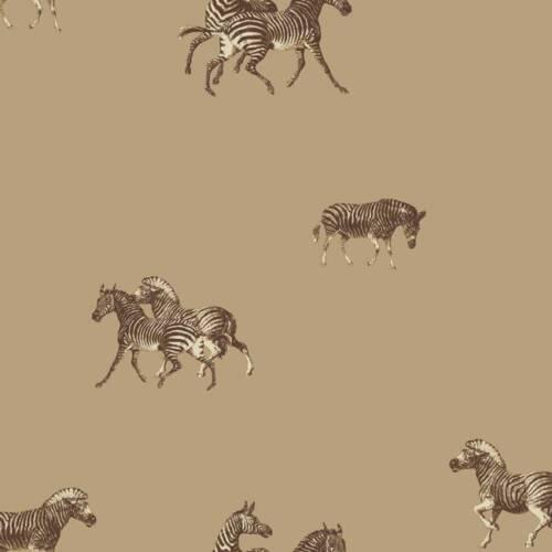 Wallpaper Designer Zebra/'s on Beige Backround