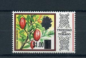 SincèRe Trinidad & Tobago 2015 Neuf Sans Charnière Cacao Industrie Ovpt 1v Set Plantes Arbres Timbres-afficher Le Titre D'origine Top PastèQues
