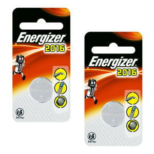 1/2/4 X Energizer 2016 3v Lithium Batteries Button Coin Cell Ecr2016 Br/cr2016 Duftendes (In) Aroma