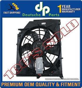 Frame E46 BMW 17117510617 Blade Puller Radiator Cooling Fan Motor Assembly