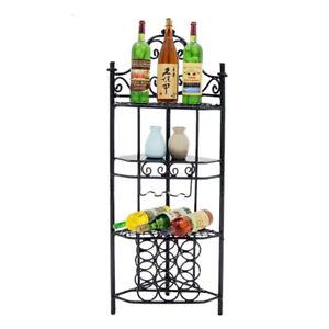 1//12 Dollhouse Miniature Wine Bottle with Rack Kitchen Bar Furniture Decor