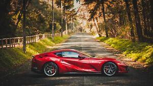 Ferrari-812-Superfast-Car-Auto-Art-Silk-Wall-Poster-Print-24x36-034