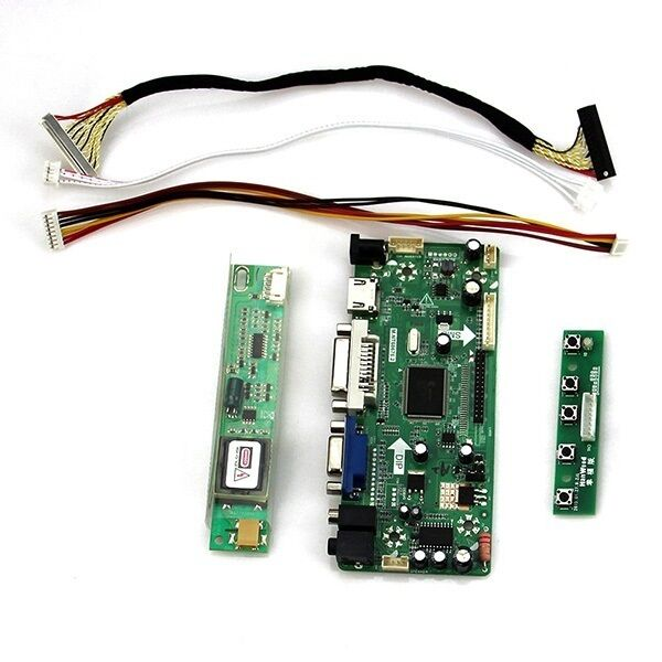 M.nt68676 (HDMI + DVI + VGA + audio) LCD Controller board kit for lp154w01 (a1) 1280*800