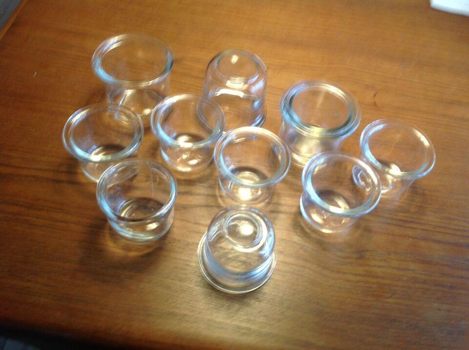 Glas, Geleglas, -
