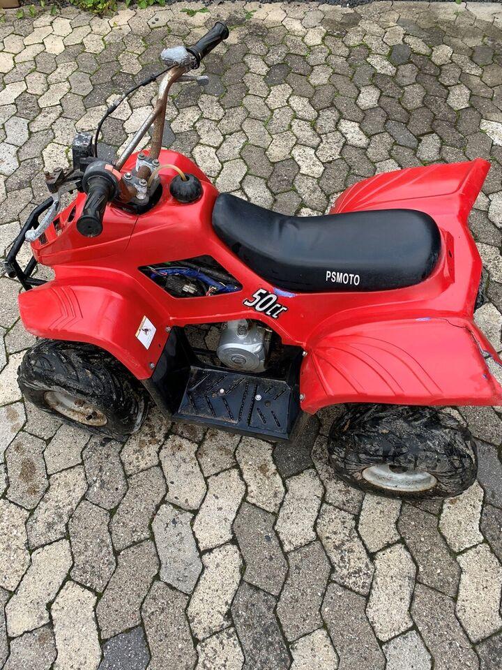 50ccm børne ATV , 50 ccm, Rød