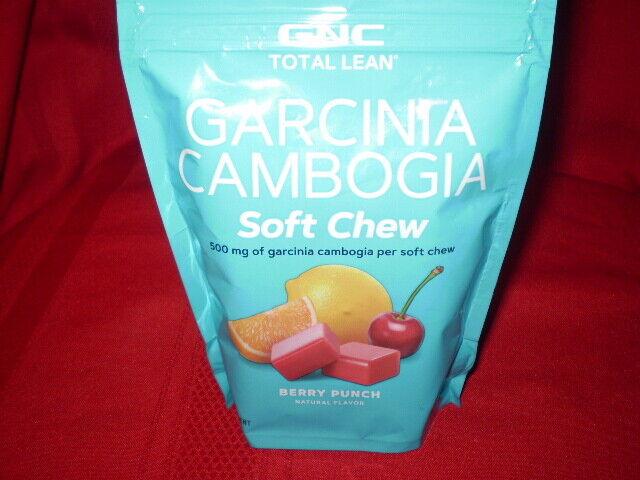 Gnc Total Lean Garcinia Cambogia 30 Soft Chews Diet Weight Loss