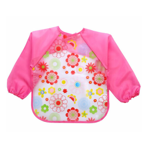 2020 Toddler Bibs with Sleeves Ideal for weaning 6-24 months approx