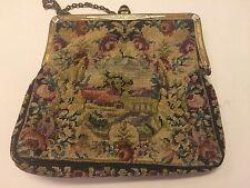 Vintage Petit Point Purse Excellent Condition Antique Evening Bag