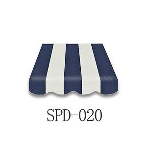 Markisenstoff-Markisenbespannung-Ersatzstoff-PLUS-Volant-4-5-x-3-m-NEU-SPD-020