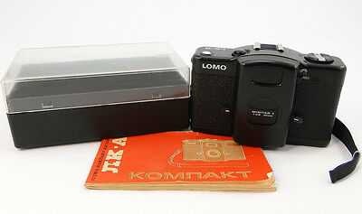 !!!NEW!!! 1992! LOMO Compact LC-A Russian Soviet USSR LOMOGRAPHY 35mm Camera