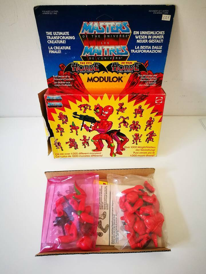 MASTERS OF THE UNIVERSE MOTU MODULOK EUROPEAN VERSION 1984 MALAYSIA