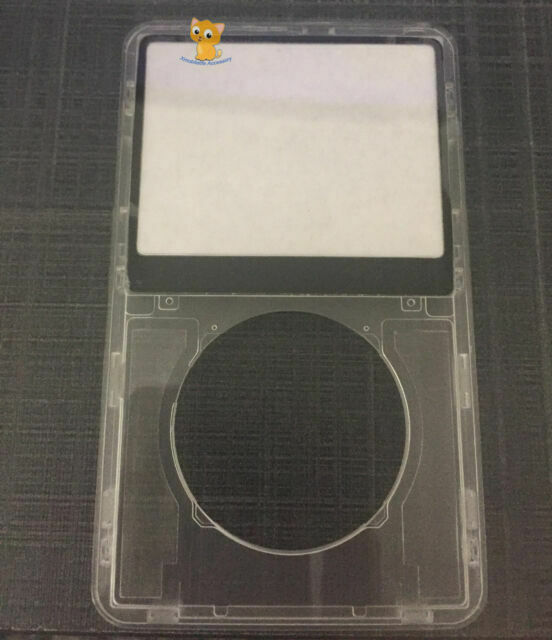 Transparent Clear Front Faceplate Housing Case Cover Fr Ipod Video 5th Gen 30gb For Sale Online Ebay