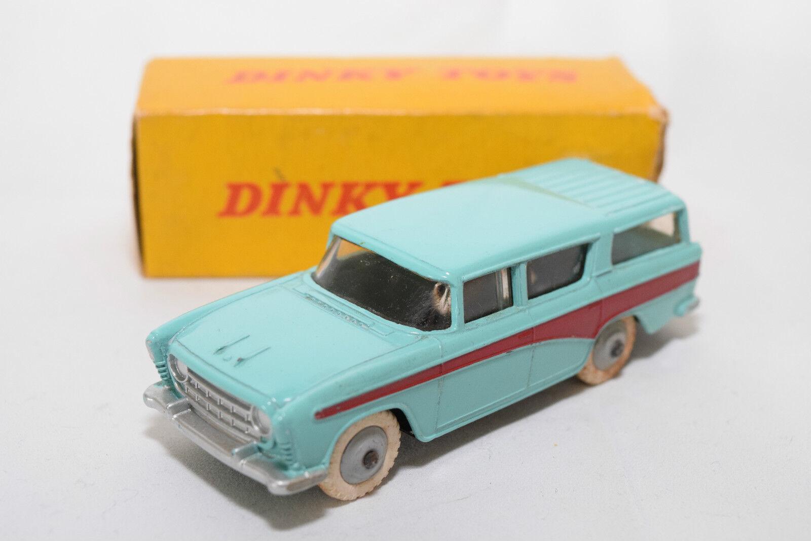P Dinky Toys 173 nash rambler Turquoise Comme neuf EN BOÎTE RARE RARE RARO