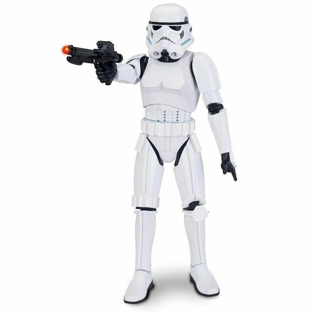 Star Wars Wars Wars  Episode VII The Force Awakens Stormtrooper 16  Animatronic Figure New 310ce1
