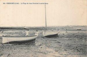 Pornichet-La-Strand-des-Altes-Pornichet-bei-Flut-Niedrige