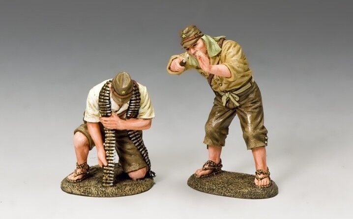 KING AND COUNTRY WW2 Ground Crew Set Imperial Japanese Army JN21 JN021
