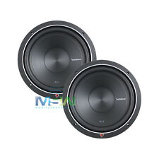 """(2) ROCKFORD FOSGATE P1S2-12 12"""" PUNCH P1 2-OHM SUB WOOFERS SUBS 500W RMS *PAIR*"""