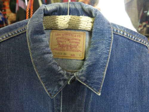 Levi Jeans True L Vintage Jacket Blau Jeansjacke 90er Jacke 90s Men Stauss Denim rvrqYpx