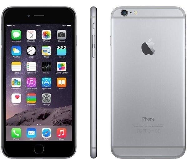iPhone 6 Plus, GB 16, sort