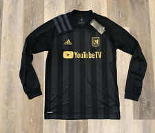 adidas Lafc Home Long Sleeve Jersey Black Los Angeles Size 2xl ...