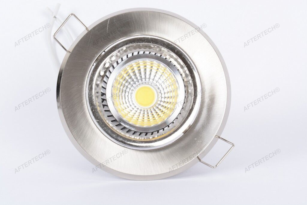 10x MAZORCA 5w FOCO LED EMPOTRABLE 220v 120° BLANCO FRÍO REGULABLE GU10 220v EMPOTRABLE a8a79f